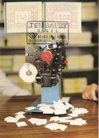 Austria Maximum Card With Automat Stamp - Machine Stamps (ATM)