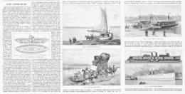 LE BAC à TRAVERS LES AGES  1899 - Bateaux