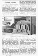 LE CHAUFFAGE AU GOUDRON   1899 - Technical