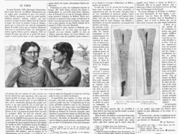 LE TABAC  1899 - Tabac (objets Liés)