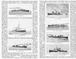 LES DESTROYERS ANGLAIS  1899 - Bateaux