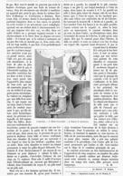 """"""" L'AUTO-LUX """" ALLUMEUR-EXTINCTEUR à DISTANCE Pour Le GAZ   1899 - Autres"""