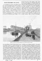 HALAGE ELECTRIQUE Sur CANAUX  1899 - Bateaux
