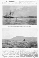 LES SOUS-MARINS  ( Le GUSTAVE ZELE Et Le GYMNOTE )  1899 - Transports