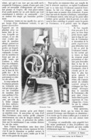 "L'ECREMEUSE "" FRAM ""    1899 - Technical"