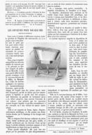 LES COUVEUSES Pour NOUVEAU-NES   1899 - Santé