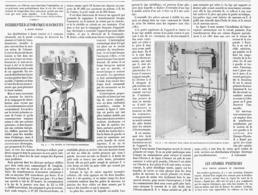 INTERRUPTEUR  AUTOMATIQUE SUR CIRCUITS à HAUTE TENSION  1899 - Technical