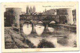 Tournai 1939 - Le Pont Des Trous Sur L'Escaut - Tournai