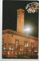 Maroc Casablanca  La Préfecture De Nuit  Feu D'artifice - Casablanca