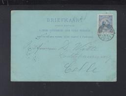 Netherlands Postcard 1892 To Germany - Briefe U. Dokumente