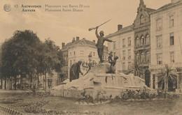 CPA - Belgique - Antwerpen - Anvers - Monument Baron Dhanis - Antwerpen