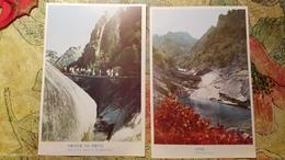 KOREA NORTH 1950s  Postcard - 2 PCs Lot - Corée Du Nord