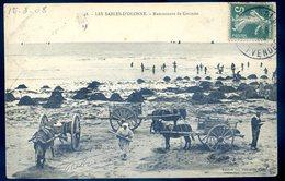 Cpa Du 85  Les Sables D' Olonne --  Ramasseurs De Goëmon         YN37 - Sables D'Olonne