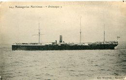 BATEAU PAQUEBOT ORENOQUE - Dampfer