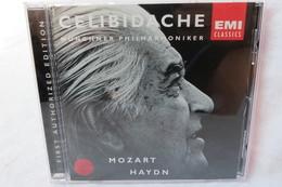 "CD ""Celibidache"" Münchner Philharmoniker, Mozart Haydn, First Edition - Classical"
