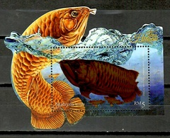 Malaysia 2018 / Fish Fishes MNH Peces Poisons Fische / Cu10308  40 - Peces