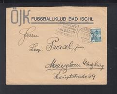 Österreich Brief 1935 Bad Ischl Fussball Klub - 1918-1945 1. Republik