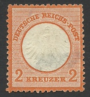 Germany, 2 Kr. 1872, Sc # 8, Mi # 15, MH - Unused Stamps