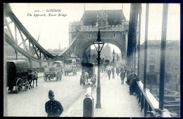 Cpa D' Angleterre London The Approach , Tower Bridge , Londres    YN37 - London