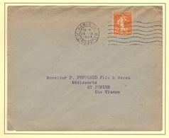 Semeuse N°158 De Roulette, Impression Dépouillée, Sans Correspondance. - 1906-38 Semeuse Camée