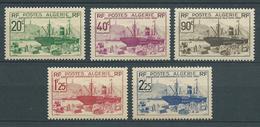 ALGERIE 1939 . Série N°s 153 à 157 . Neufs **  (MNH) - Unused Stamps