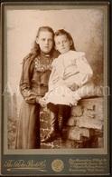 Cabinet Card / Cabinet Photo / Filles / Girls / Enfants / Children / Photographer / The Globe Photo Co / Southampton - Photos