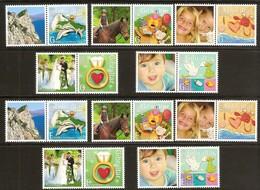 Gibraltar 2007 Yvertn° 1231-1240 *** MNH Cote 12 Euro Timbres De Messages - Gibraltar