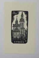 Ex-libris Illustré Belgique XXème - E. TERSY - Ex Libris