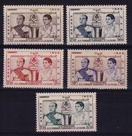 CAMBODGE - N° 52/56** - Couronnement Du Roi Norodom Suramarit Et De La Reine Kossamak Nearirat Serey Vathana. Luxe - Cambodia