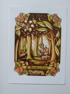 Ex-libris Illustré Belgique XXème - L. Verkuylen - Ex-libris