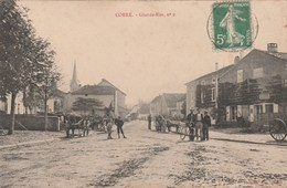 CORRE -   HAUTE SAONE  70 -  CPA    LA GRANDE RUE - France