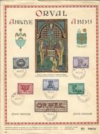1943 Vijfde ORVAL   HERDENKINGSKAART - Erinnerungskarten