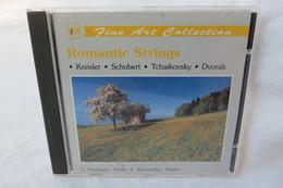 "CD ""Romantic Strings"" Fine Art Collection, V.Vaidman (Violin), E.Krasovsky (Piano) - Classical"