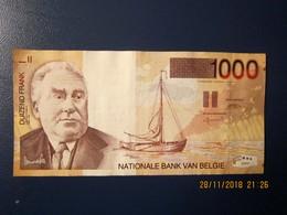 """Bankbiljet Belgie 1000 Frank """"type Permeke"""" In Prachtige Staat - [ 2] 1831-... : Royaume De Belgique"""