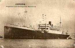 BATEAU PAQUEBOT CEPHEE - Dampfer