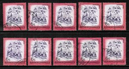 AUSTRIA  Scott # 967 USED WHOLESALE LOT OF 10 (WH-273) - Lots & Kiloware (mixtures) - Max. 999 Stamps