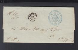 Lettera Venezia 1857 - Lombardy-Venetia