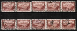 ECUADOR  Scott # 407 USED WHOLESALE LOT OF 10 (WH-274) - Stamps