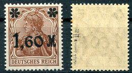 Deutsches Reich Michel-Nr. 154IIa Postfrisch - Geprüft - Unused Stamps
