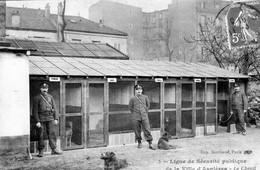 CPA De ASNIERES (Hauts De Seine) - Ligue De Sécurité Publique. Le Chenil. Imp. Berthaud. N° 5. Circulée. Bon état. - Asnieres Sur Seine