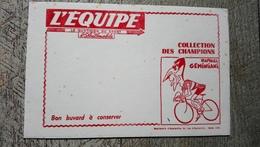 Buvard Journal L'équipe Raphaël Geminiani Collection Des Champions  Cyclisme Vélo  Sport - Transports