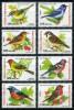 TURKEY 2004 (**) - Mi. 3385-92, Singing Birds (wren, Warbler, Sparrow, Bunting, Chaffinch, Redstart, Nightingale) - 1921-... Republic