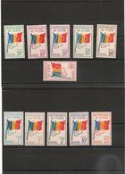 TCHAD  Service  Années 1966/71   N° Y/T :1/10** - Tchad (1960-...)