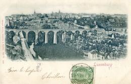 Luxemburg - Carte Précurseur Gauffrée - Luxembourg - Ville