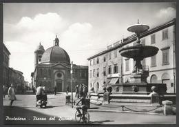 PONTEDERA, Piazza Del Duomo - Viaggiata - Con Vespa E Bici - Italia