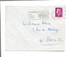 FLAMMEDE BAGNEUX MAINE ET LOIRE 1968 - Marcofilia (sobres)