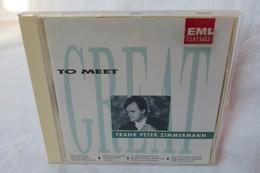 """CD """"Frank Peter Zimmermann"""" Great To Meet, Bach Mozart, Ravel - Classical"""
