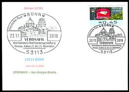 97581) BRD - Karte - SoST 53113 BONN Vom 23.11.2018 - Verona, VERONAFIL Ausstellung, Kirche - BRD