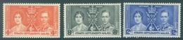 STRAITS SETTLEMENTS - MNH/**  - 1937 - CORONATION -  Yv 220-222 -  Lot 18443 - Straits Settlements