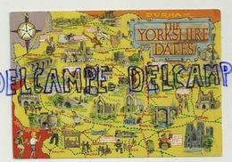Carte Géographique Du Yorkshire. The Yorkshire Dales By Bamford Publishers - Cartes Géographiques